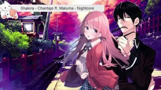 Chantaje「Nightcore」