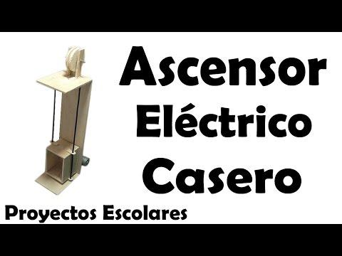 Muy De Hacer ProyectosAscensor Eléctrico Casero Fácil Youtube OPZkXiuT
