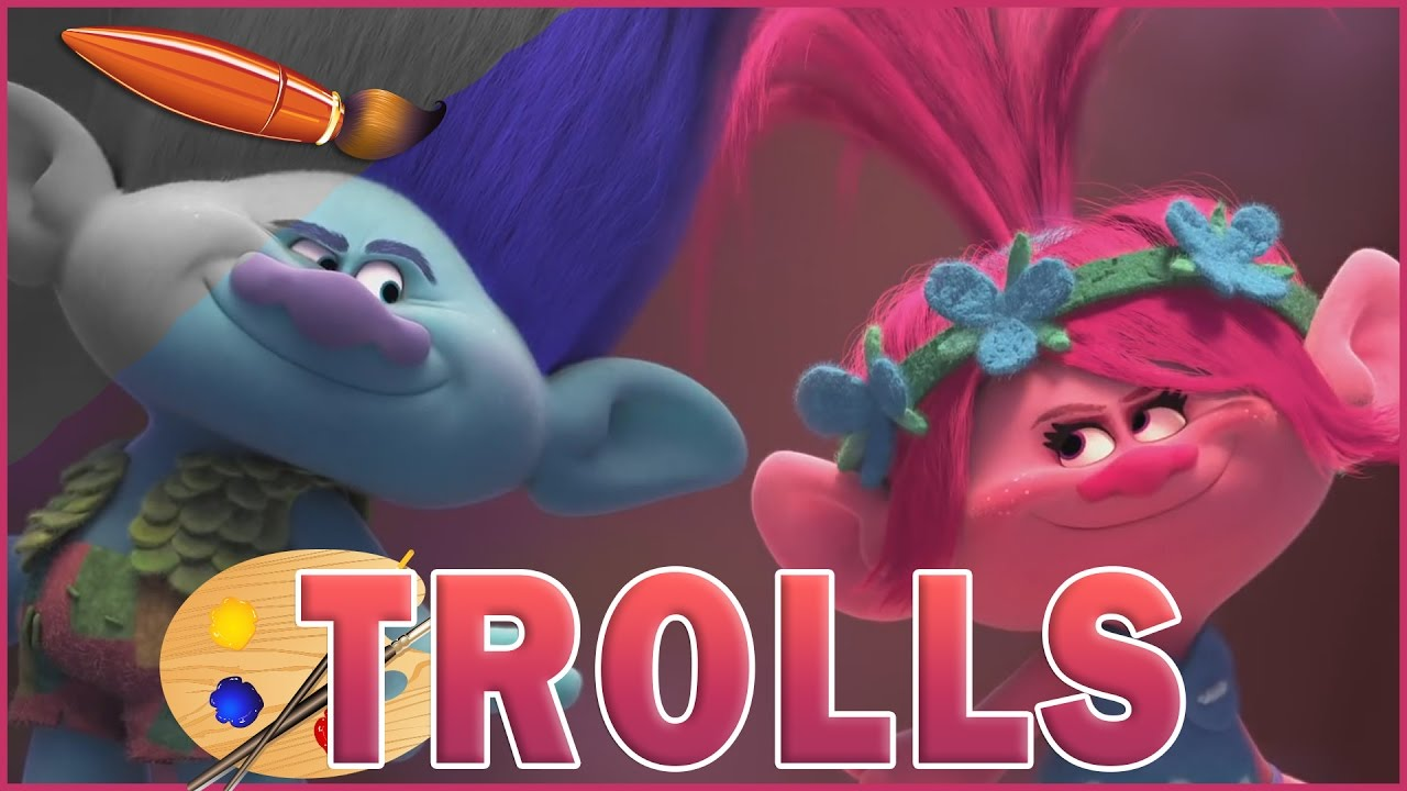 80 Trolls Movie Coloring Pages