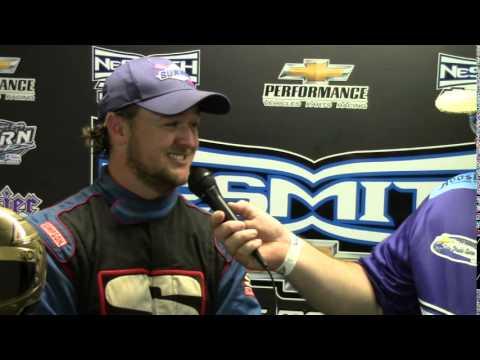 Ryan King Feature Winner NeSmith Dirt Late Model Series Cochran Speedway 8 1 15