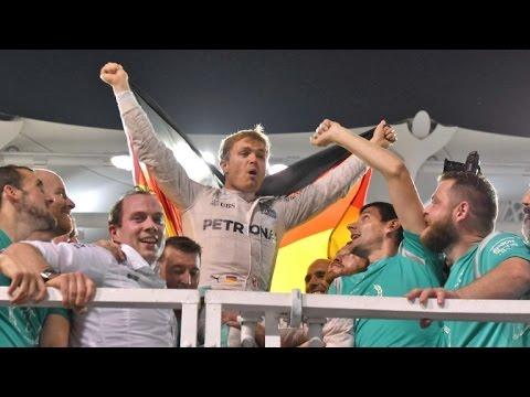 Rosberg se proclama campeón del mundo de F1 en Abu Dabi