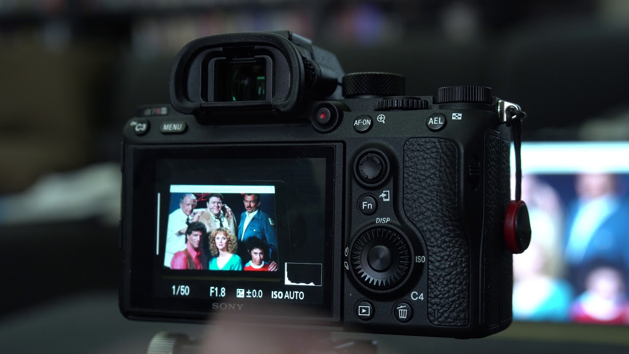 sony a7R iii / a7iii continuous eye focus in combi with touchscreen and  trackpad