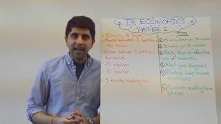 IB Economics Paper 1 Tips (HL/SL)