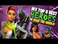 Fortnite Save The World Heroes