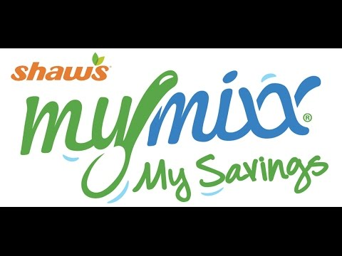 Shaws MyMixx App How To  #MyMixx