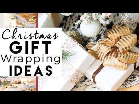 DIY Christmas Decorations | Bows | Christmas Gift Wrap Ideas - YouTube