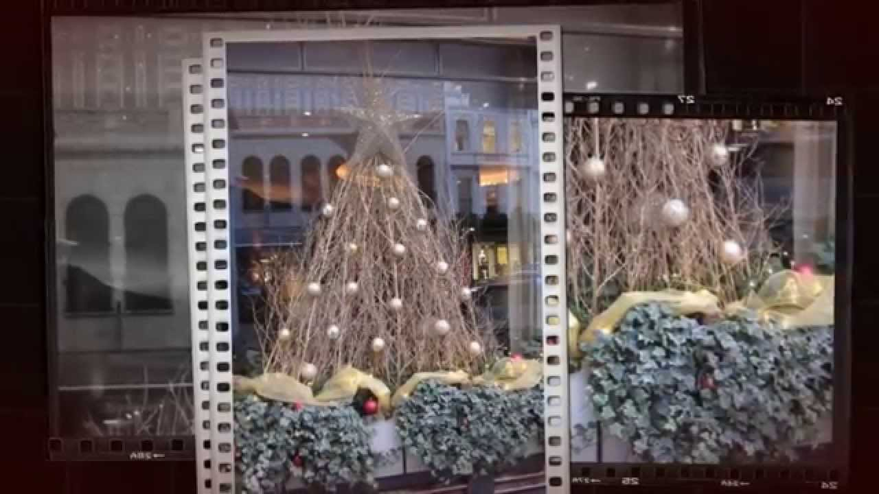 Decorated Christmas Trees. Christmas Decorating Service at Todich Floral  Design London, UK