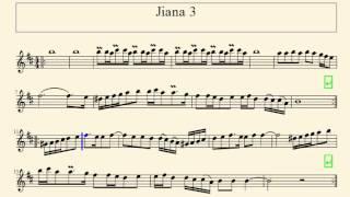 [RO] Partitura - Jiana