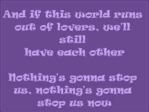 Nothing's Gonna Stop Us Now By:JuliElmo Lyrics (Theme Song of Tween Academy)