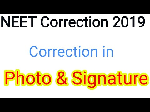 NEET 2019 Correction || Correction in Photo and Signature Mp3