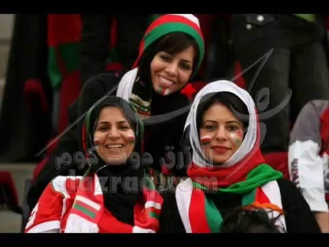 Fans Women's Omani Football- Muscat, Oman // Arab Girls