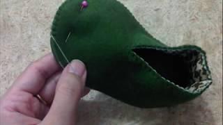 Cara membuat sepatu bayi dari kain flanel