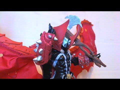 Vr Reviews Spawn Series 7 Spawn Iii Ultimate Action Figure Re Review Youtube