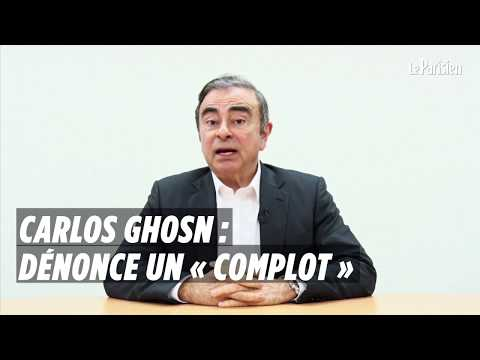 Carlos Ghosn dénonce un « complot »
