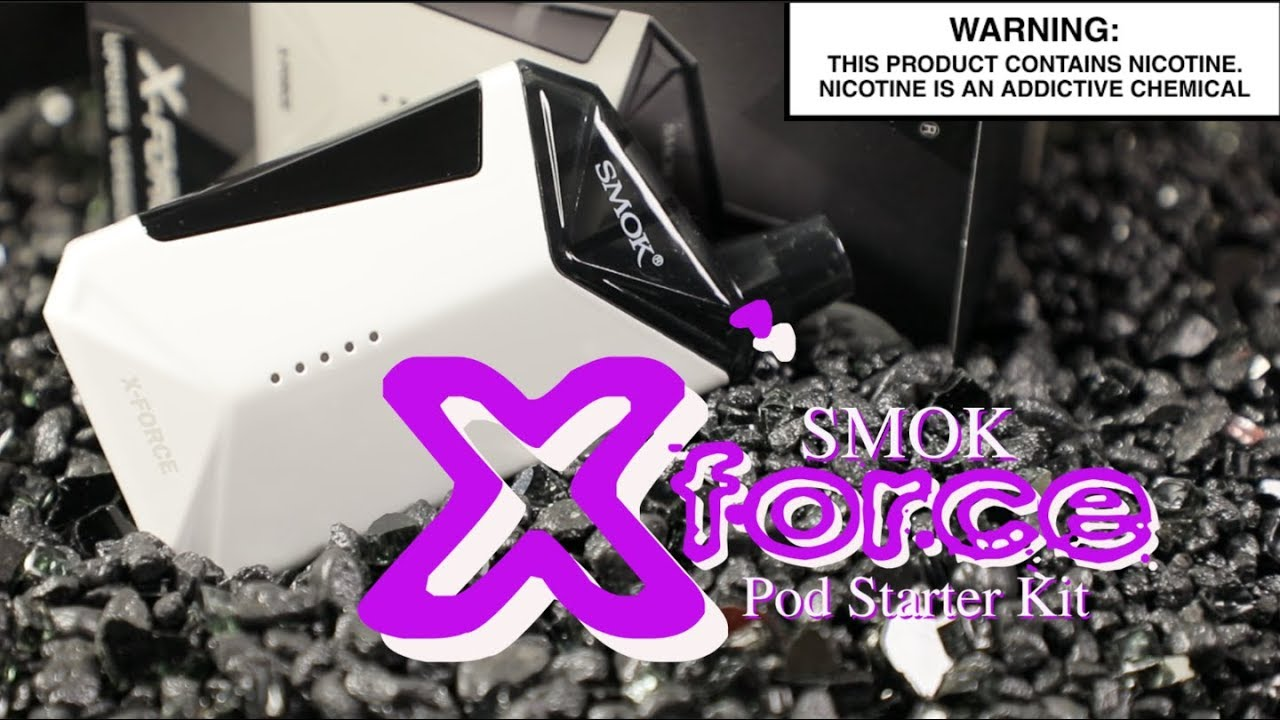 SMOK X-Force MTL Starter Kit ~All In One Vape MTL Kit Review~