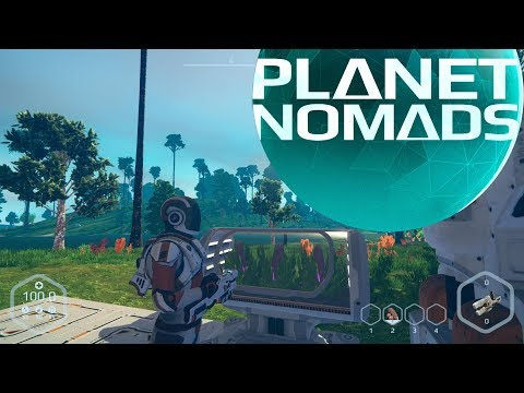 Lets Play Planet Nomads ep 3 - Making Food and Water