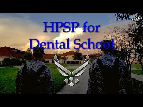 HPSP For Dental School: Requirements, Scores, Competitiveness