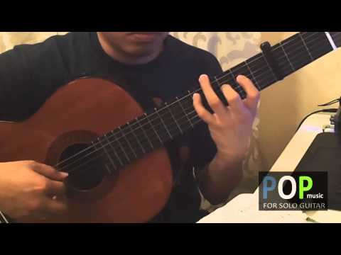 Misty - Johnny Mathis (solo guitar cover)