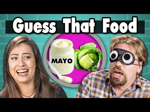 GUESS THAT FOOD CHALLENGE! #2 | People Vs. Food