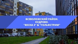 видео ЖК Гольфстрим в Кудрово: отзывы и цены на квартиры в новостройке «Гольфстрим»