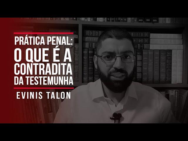 Prática Penal: o que é a contradita da testemunha?