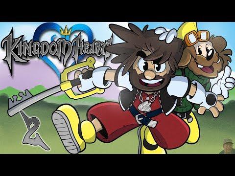 Kingdom Hearts | Let's Play Ep. 2 | Super Beard Bros.
