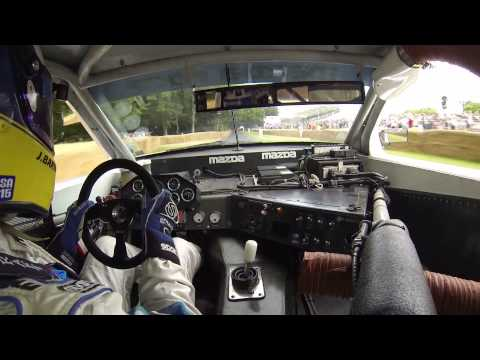 Mazda 1991 RX-7 IMSA GTO Goodwood Festival of Speed Part 2