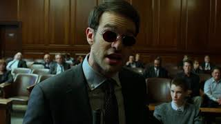 Matt Murdock tries to be a regular lawyer - The Defenders