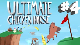 Stumpt Plays - Ultimate Chicken Horse - #4 - Racoon Redemption