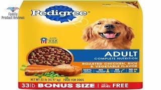 Pedigree adult dry dog food - roasted chicken rice & vegetable flavor