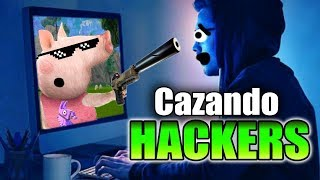 🔴 HUNTING *HACKERS* IN FORTNITE! 🐷 PEPA FORTNITE from the 🐷 CARCEL