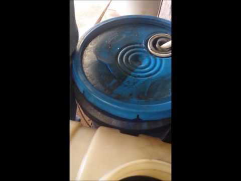 Cleaning Used Motor Oil into Black Diesel  With Centrifuge