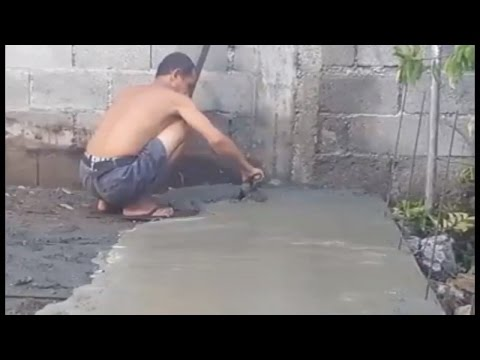 DAVAO CITY, PHILIPPINES; Back Yard Const. Project (IN TIME-LAPSE)