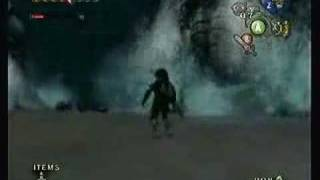 Twilight Princess: Zant Underwater Battle - No Zora Armor