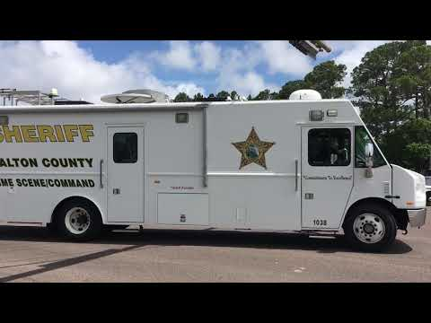 Walton County vehicles continue to arrive