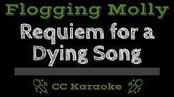 Flogging Molly • Requiem for a Dying Song (CC) [Karaoke Instrumental Lyrics]