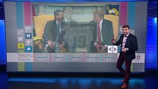تيشيرت ترامب لرئيس البرازيل يثير سخرية المغردين