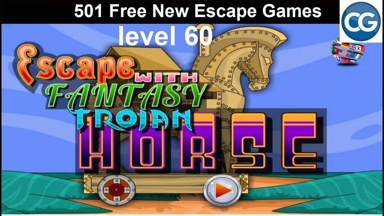 Walkthrough 501 Free New Escape Games Level 60 Escape