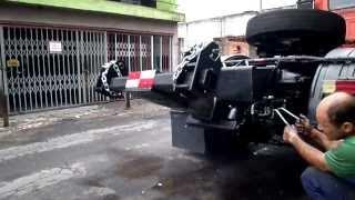 Granada Guinchos Lança/ Rebocador Hidraulico Scania Jacaré