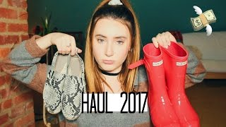 clothing haul 2017 free people brandy melville   kaelakilfoil