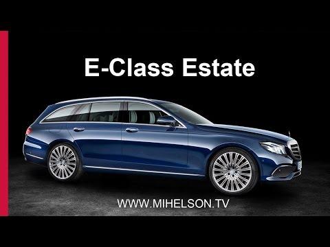 Mercedes E Class универсал PREVIEW Александра Михельсона