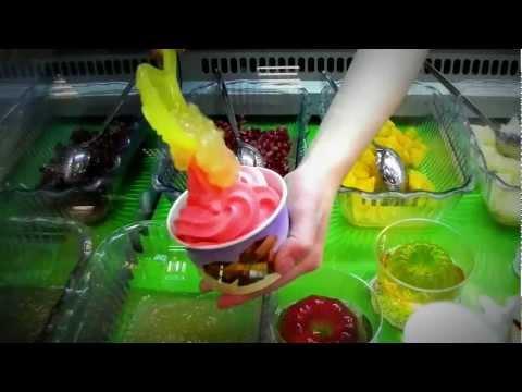 "Замороженный йогурт. Йогурт-бара ""Yogumi"" Франшиза."