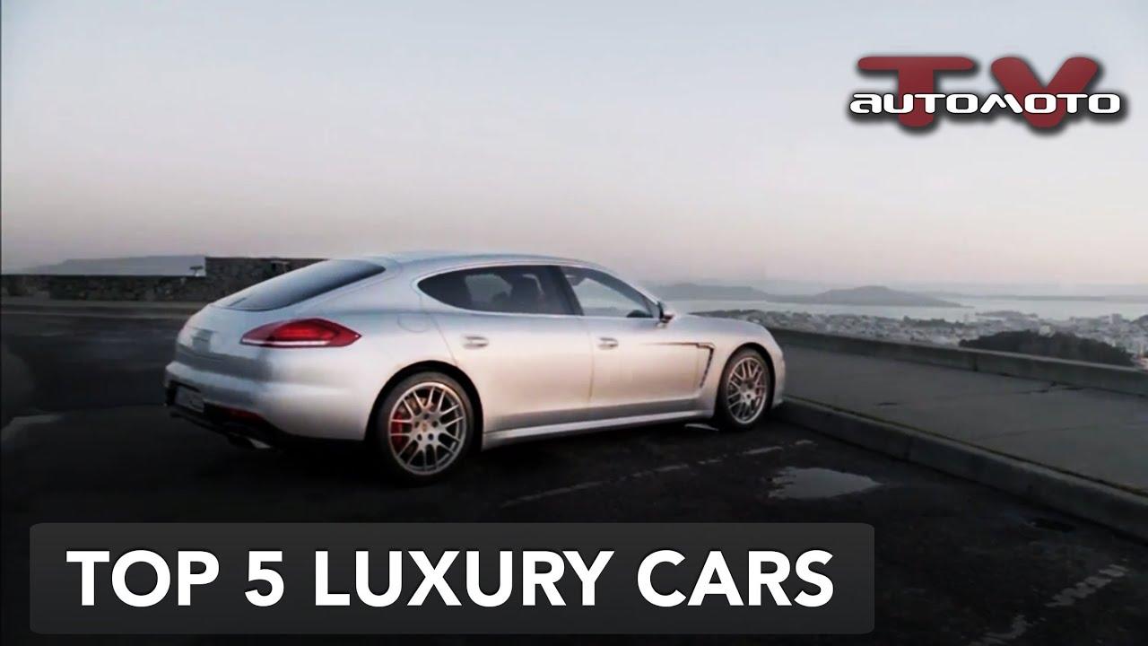 Luxury Cars Sedans: Top 5 Super Luxury Cars 2013