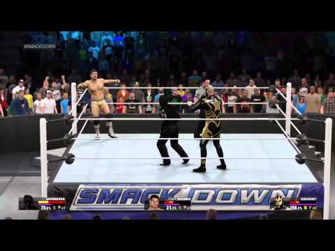 WWE 2K15 MY CAREER The Big Red Monster Vs The Demon ep 12 (The Phenomenal)