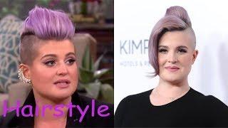 kelly osbourne hairstyle (2018)