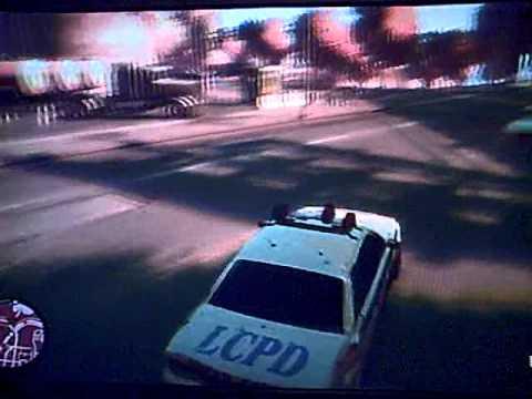 GTA IV - Shootout Police Car Theft
