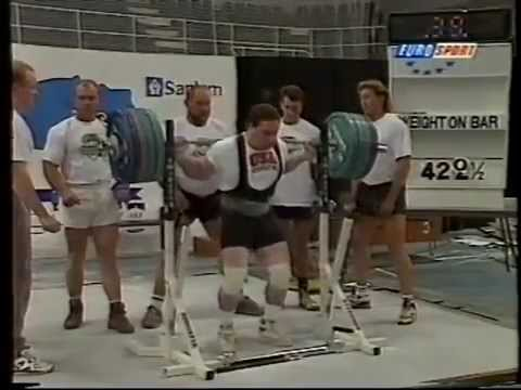 The World Powerlifting Championship 1994 South Africa