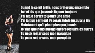 Rihanna - Umbrella - Traduction en Français