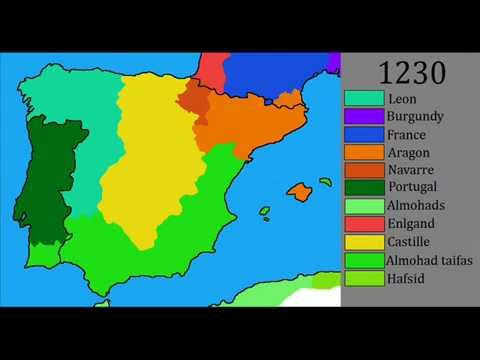 History Of The Iberian Peninsula Youtube