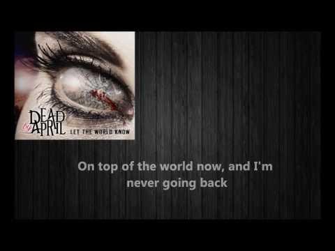 Dead by April - My Tomorrow - W/Lyrics - Let the World Know